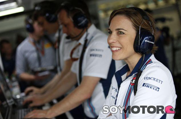Claire Williams durante el GP de Alemania 2016 - SoyMotor