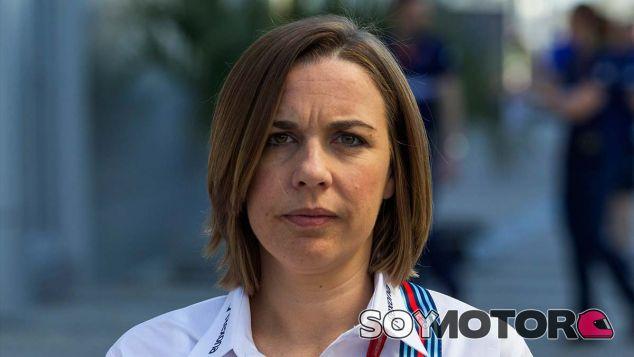Claire Williams en Sochi - SoyMotor.com