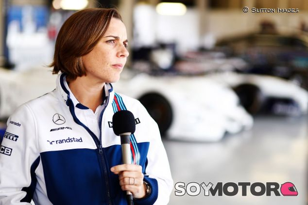 Claire Williams – SoyMotor.com