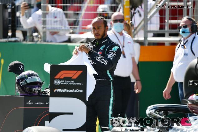 """Hamilton se libra de sanción tras recibir """"señales contradictorias"""" en Q3 - SoyMotor.com"""