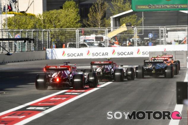La F1 piensa en experimentar con una carrera clasificatoria en 2020 - SoyMotor.com