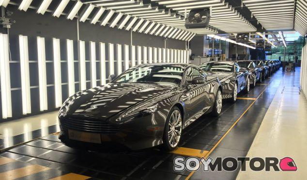 Aston Martin ha cerrado la línea de producción del DB9 - SoyMotor