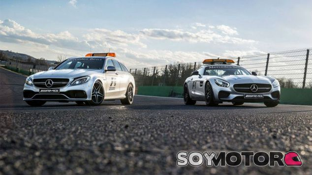 Mercedes AMG estrena Safety-Car y Medical Car para el año 2015