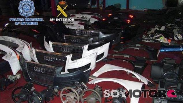 Los coches más robados en España - SoyMotor.com
