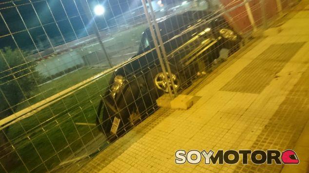 El coche accidentado en la Ciudad Deportiva de Majadahonda - SoyMotor