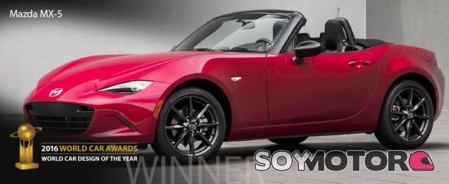 Mazda MX5, coche del año 2016 en el mundo -SoyMotor