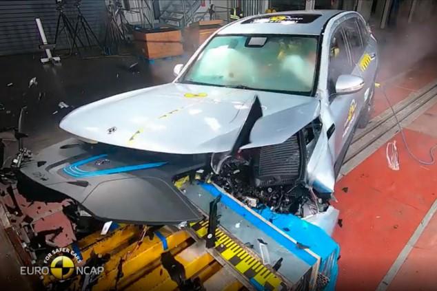 Mercedes EQC en las pruebas EuroNCAP - SoyMotor.com
