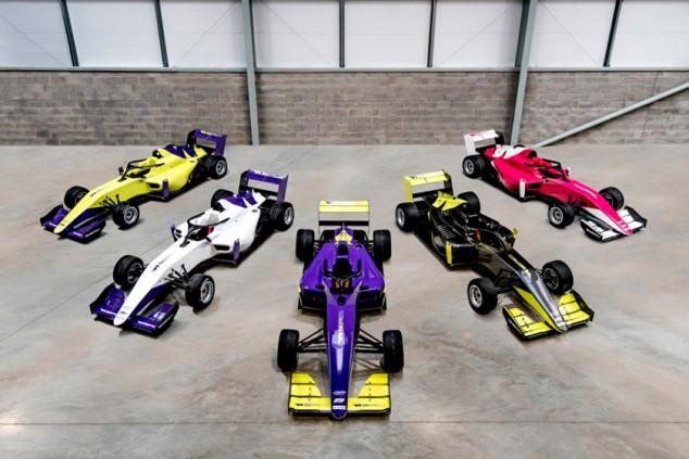 Las W Series presentan cinco decoraciones diferentes para sus coches 2019 - SoyMotor.com