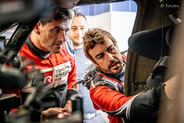 """Peterhansel, sobre Alonso: """"Correr con Coma es un error"""""""
