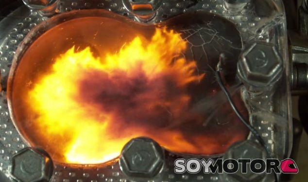 Así funciona una cámara de combustión a 4.000 fotogramas por segundo -SoyMotor