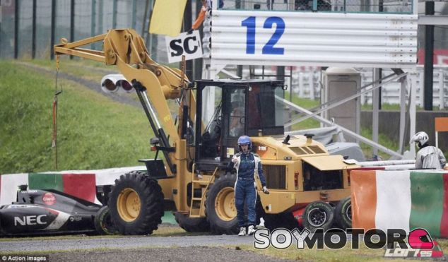 Accidente de Jules Bianchi en el Gran Premio de Japón - LaF1