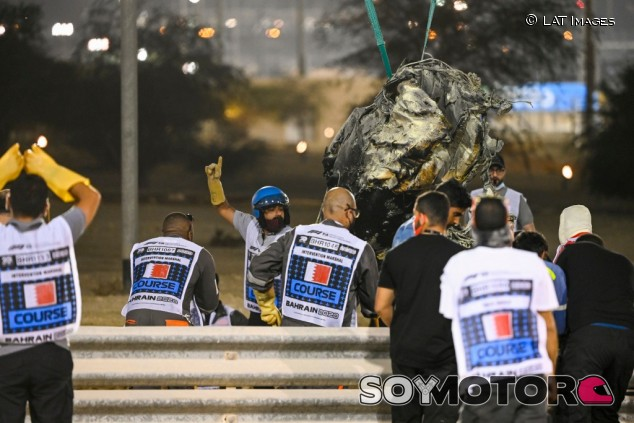 Baréin premia a dos comisarios que ayudaron en el accidente de Grosjean - SoyMotor.com