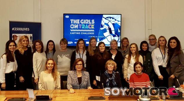 Primera reunión de la comisión de mujeres en el deporte motor en París - SoyMotor.com