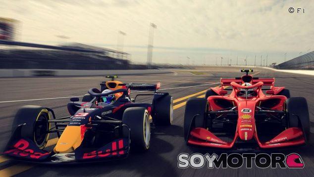 Dos prototipos para la F1 de 2021 - SoyMotor.com