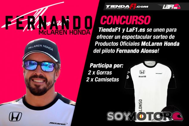 Concurso TiendaF1.com: ¡Merchandising de Alonso! - LaF1