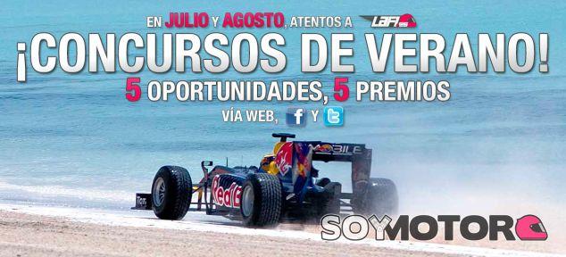 Concursos de Verano LaF1.es: ¡Cinco semanas, cinco premios!