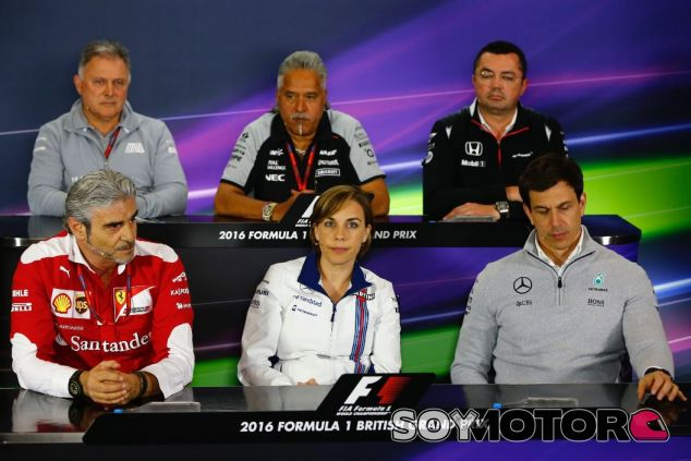 Foto oficial de la rueda de prensa - LaF1