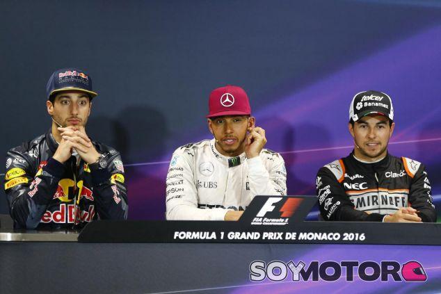 Conferencia de los tres primeros en el GP de Mónaco - LaF1