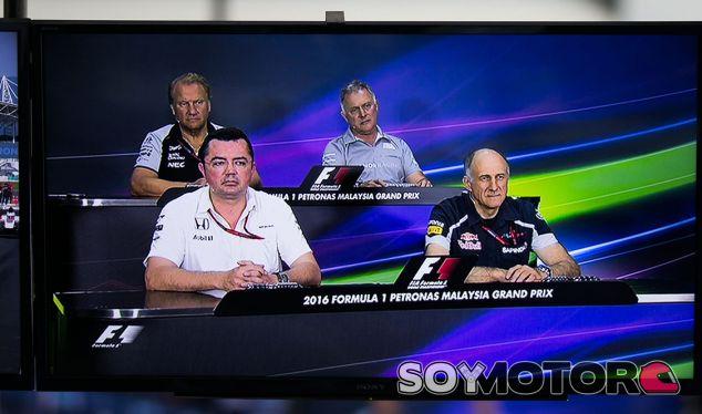Rueda de prensa del GP de Malasia F1 2016: Viernes - SoyMotor.com