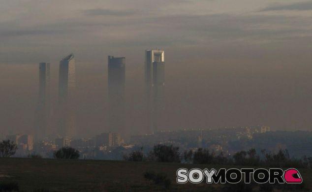 Contaminación desde la vista aérea de Madrid – SoyMotor.com