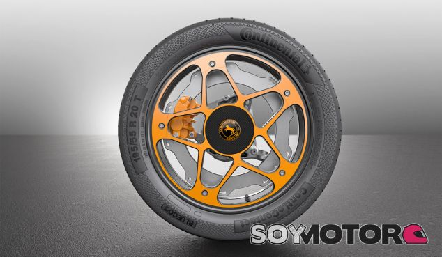 Diseño final del sistema de fernado 'New Wheel' de Continental - SoyMotor