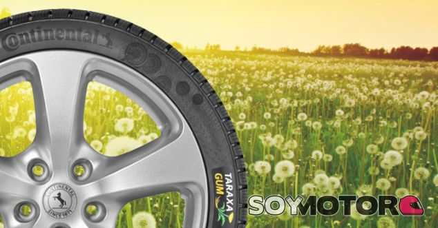 Taraxagum, el neumático sostenible de Continental