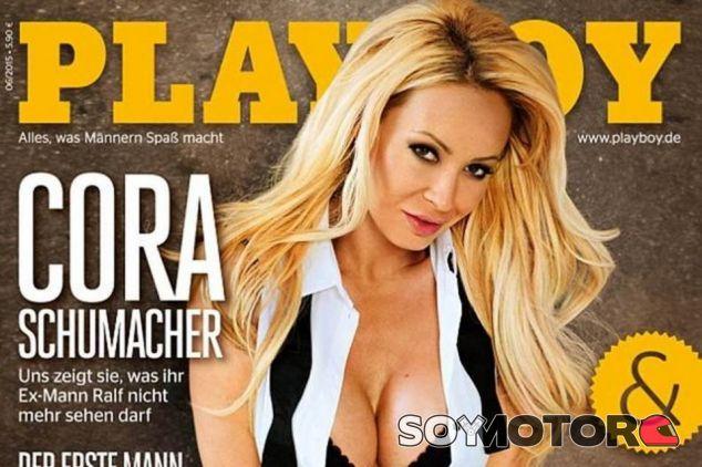 Cora Schumacher en la portada de Playboy - LaF1