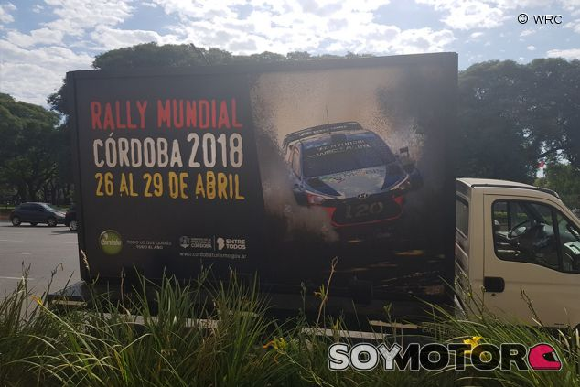 Cartel del Rally Mundial de Córdoba 2018 - SoyMotor.com