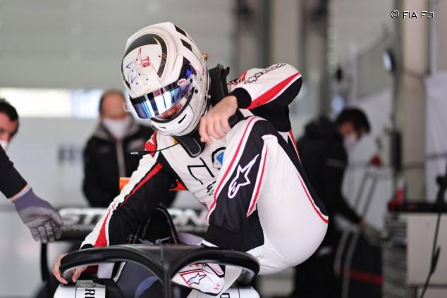 Correa, en la primera jornada de test de la F3 en Austria - SoyMotor.com