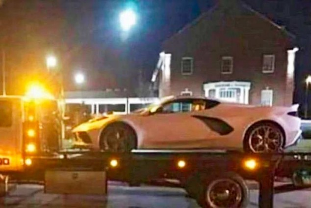 Uno de los Corvette confiscados - SoyMotor.com