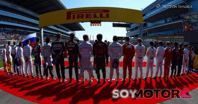 Los pilotos en el GP de Rusia - SoyMotor