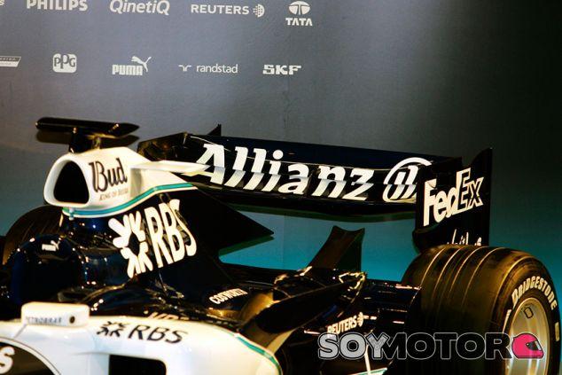 Presentación del Williams FW28 de 2006, con motor Cosworth - SoyMotor.com
