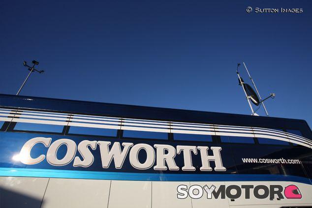 Camión de Cosworth en Jerez - SoyMotor.com