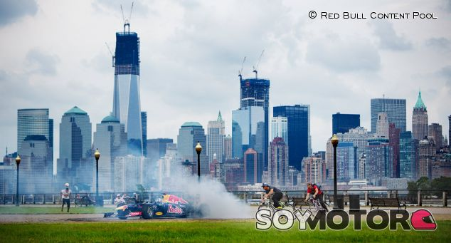 David Coulthard en Liberty State Park, Nueva Jersey - LaF1