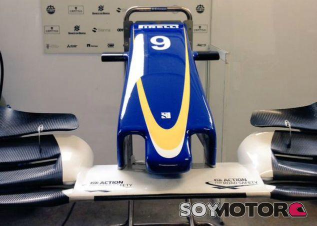 El nuevo morro, la principal novedad de Sauber - LaF1