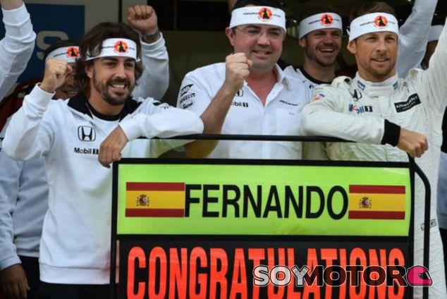 McLaren felicita a Alonso por sus 250 Grandes Premios - LaF1