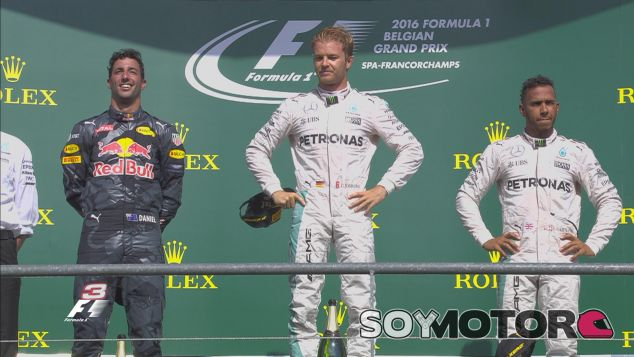 Rosberg recorta diez puntos a Hamilton en el Campeonato - LaF1