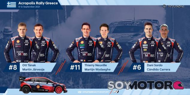 Hyundai nomina a Dani Sordo para el Rally de Acrópolis - SoyMotor.com