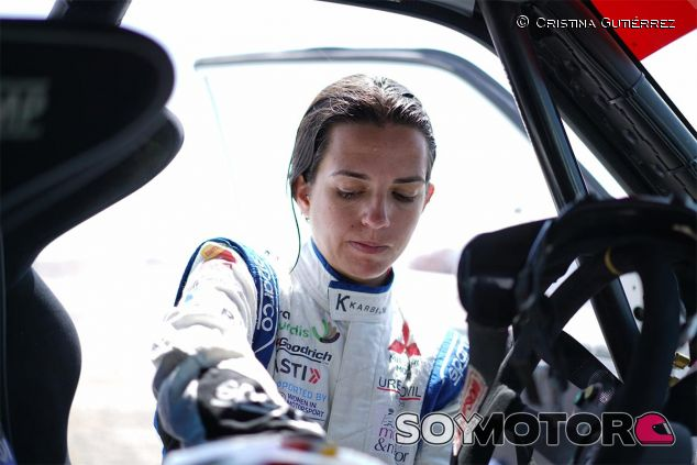 Cristina Gutiérrez en el Rally Dakar - SoyMotor