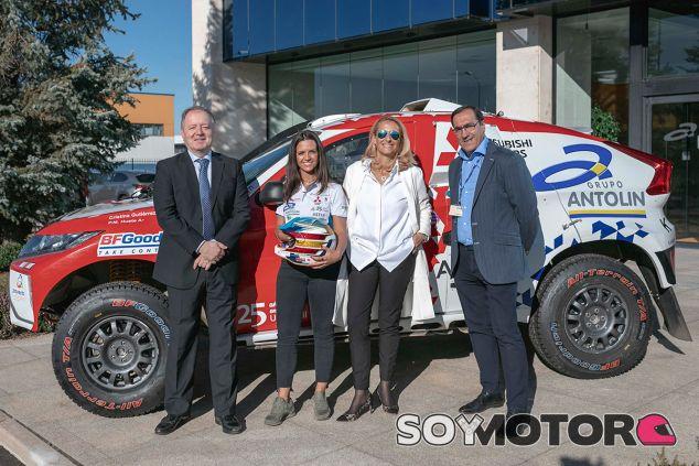 Cristina Gutierrez revalida sus apoyos para el Dakar 2019 - SoyMotor.com