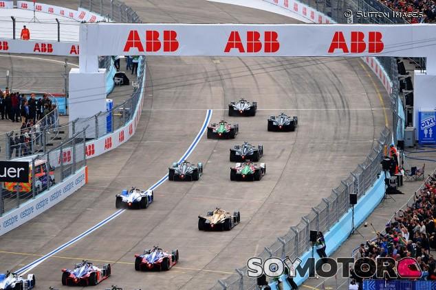 Salida del ePrix de Berlín - SoyMotor
