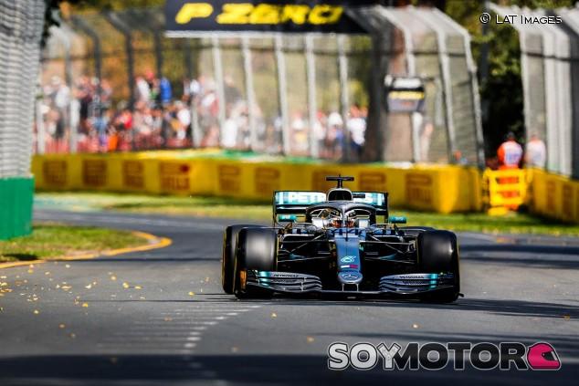 Lewis Hamilton en los Libres 1 del GP de Australia F1 2019 - SoyMotor