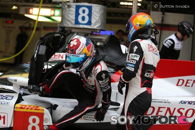 Sébastien Buemi y Fernando Alonso en Shanghái - SoyMotor
