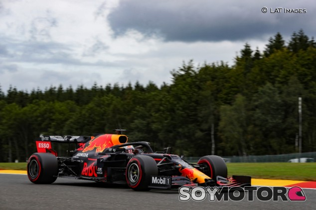 Max Verstappen en Bélgica - SoyMotor.com