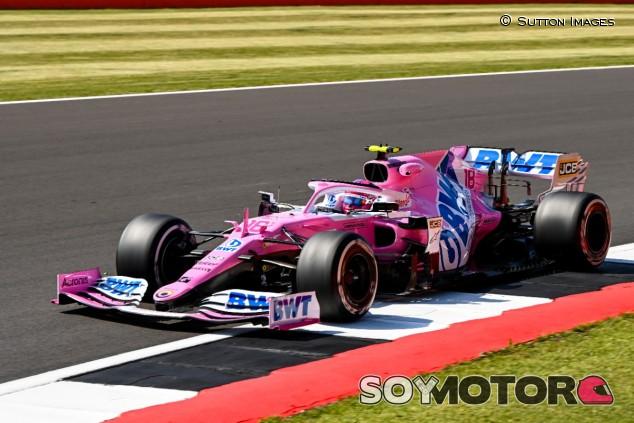 Lance Stroll en Silverstone - SoyMotor.com