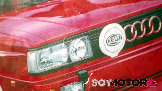 El Audi Quattro se convierte en arte - SoyMotor.com