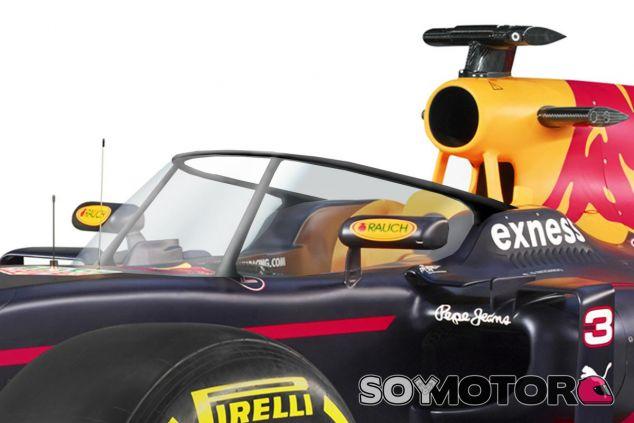 La cúpula de Red Bull sería parecida a este dibujo - LaF1