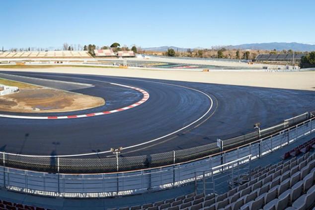 El Circuit de Barcelona-Catalunya gana 20 metros - SoyMotor.com