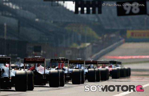 Parrilla de salida del Gran Premio de China 2015 - LaF1