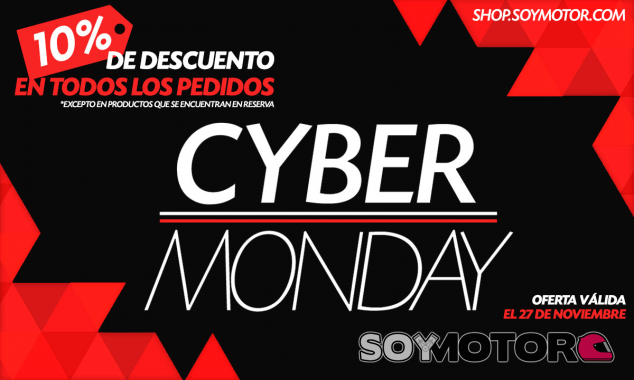 Cyber Monday en Shop.soymotor.com